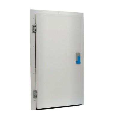 Porta Giratória p/ Congelados embutir c/ marco fechado 1000 x 2000 x 150 mm c/ Resistência